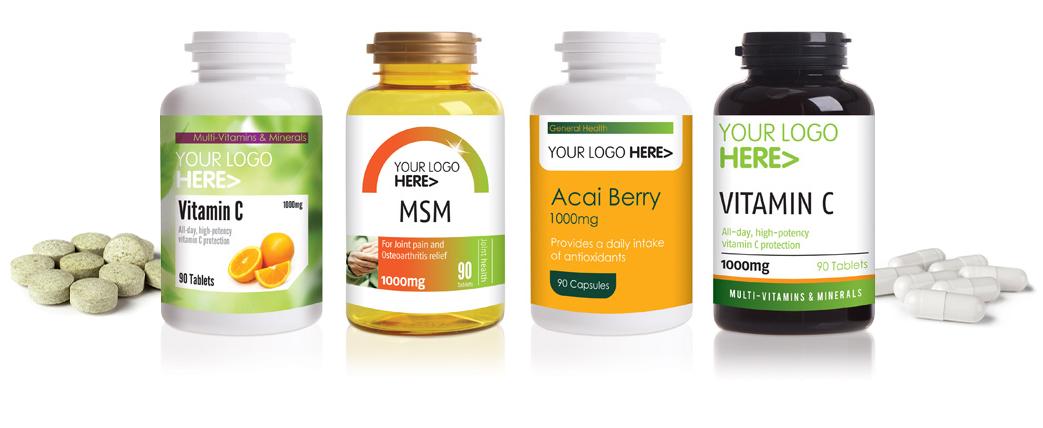 Manufacturers of Vitamins, Minerals & Supplements – ParkAcre
